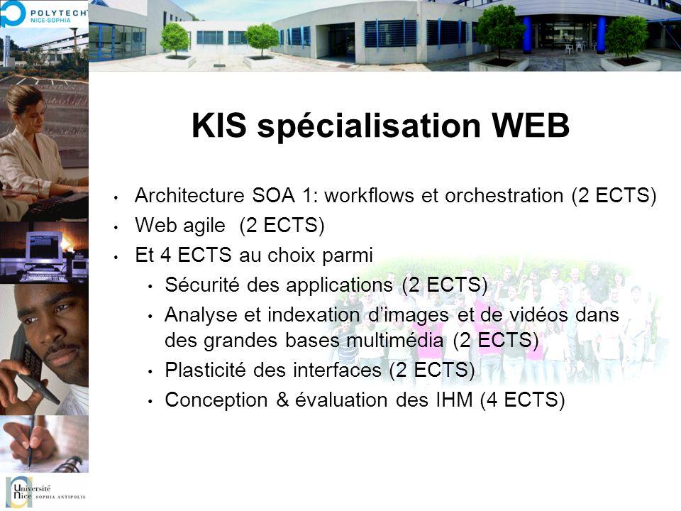 KIS spécialisation WEB