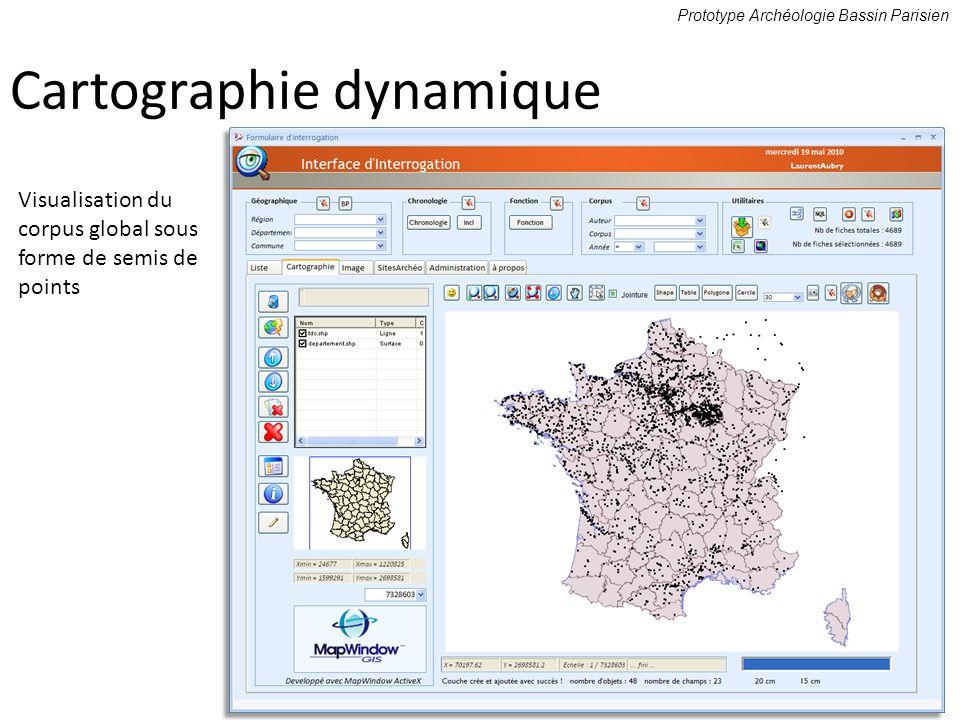 Cartographie dynamique