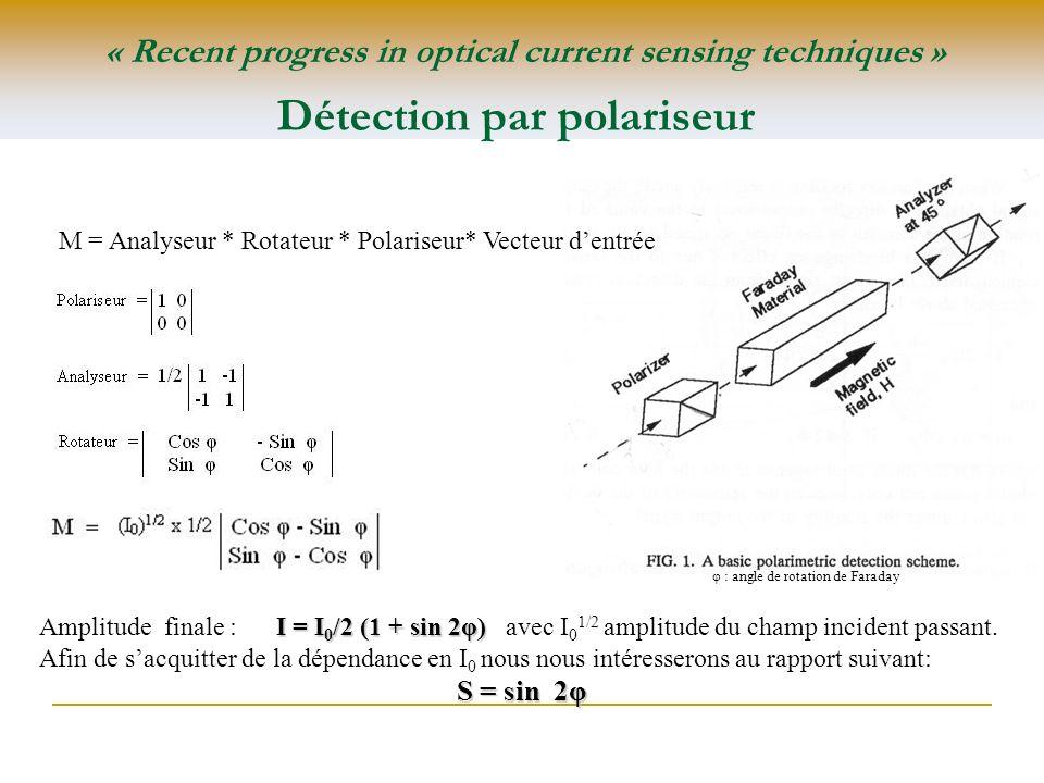 Détection par polariseur