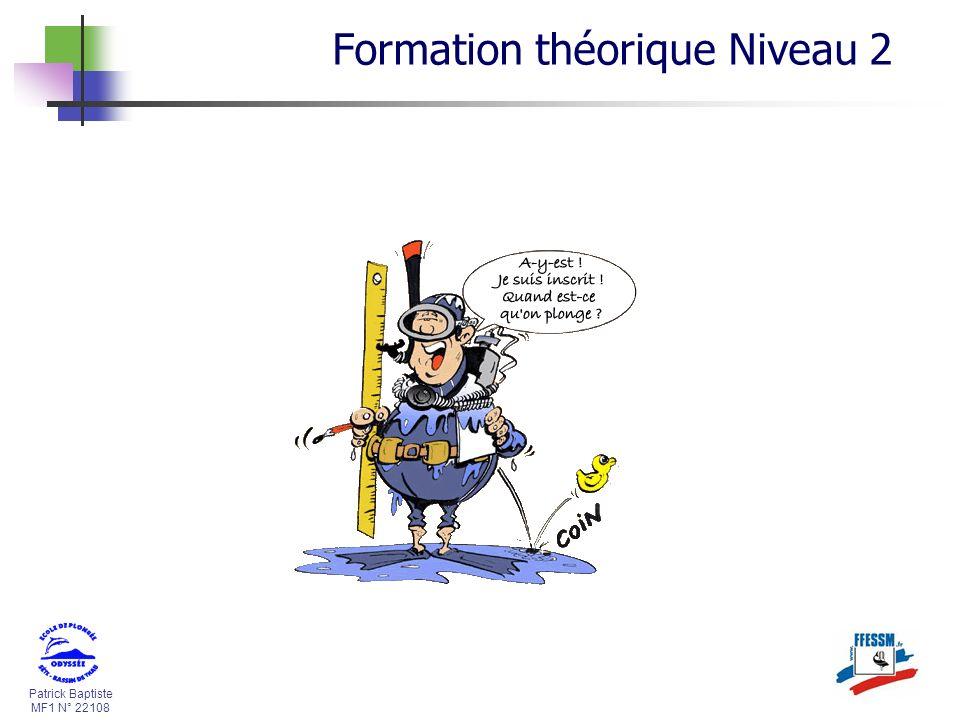 Formation théorique Niveau 2