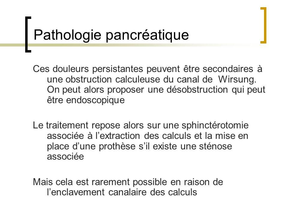 Pathologie pancréatique