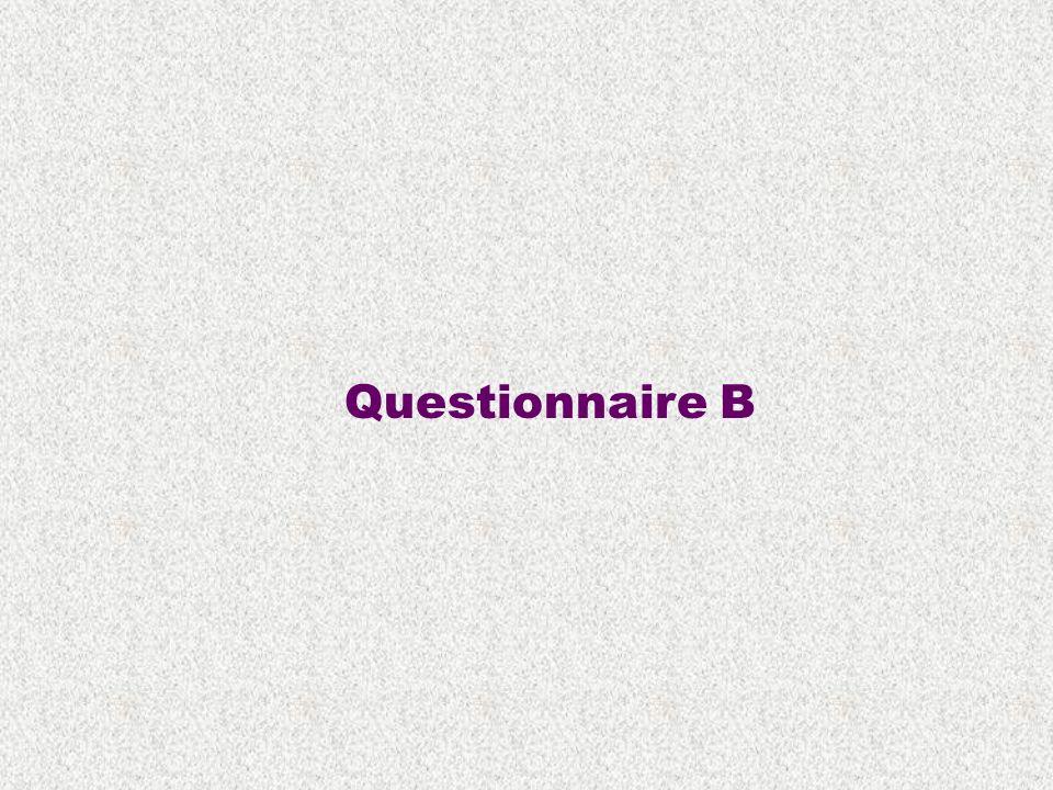 Questionnaire B