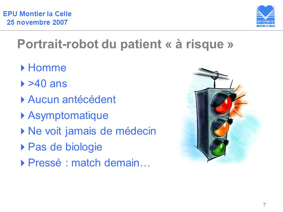 Portrait-robot du patient « à risque »