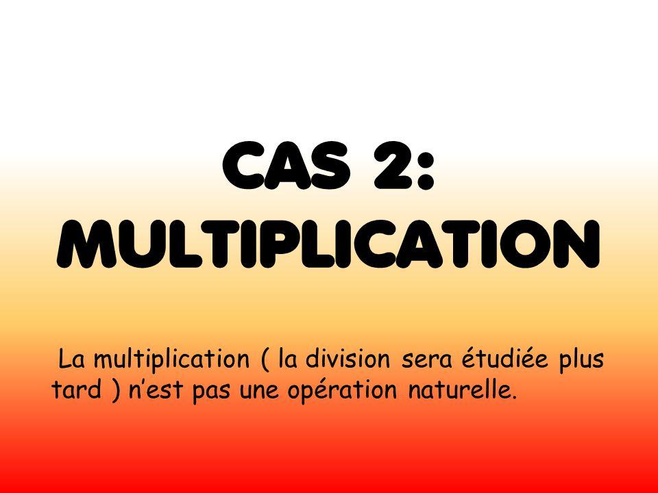 CAS 2: MULTIPLICATION.