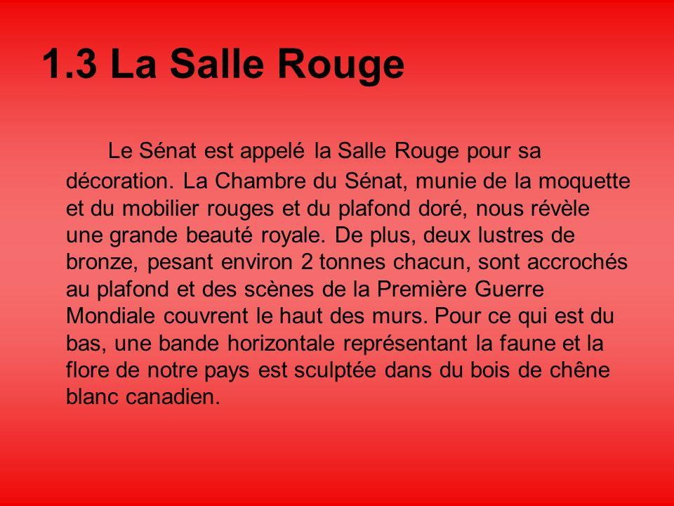 1.3 La Salle Rouge