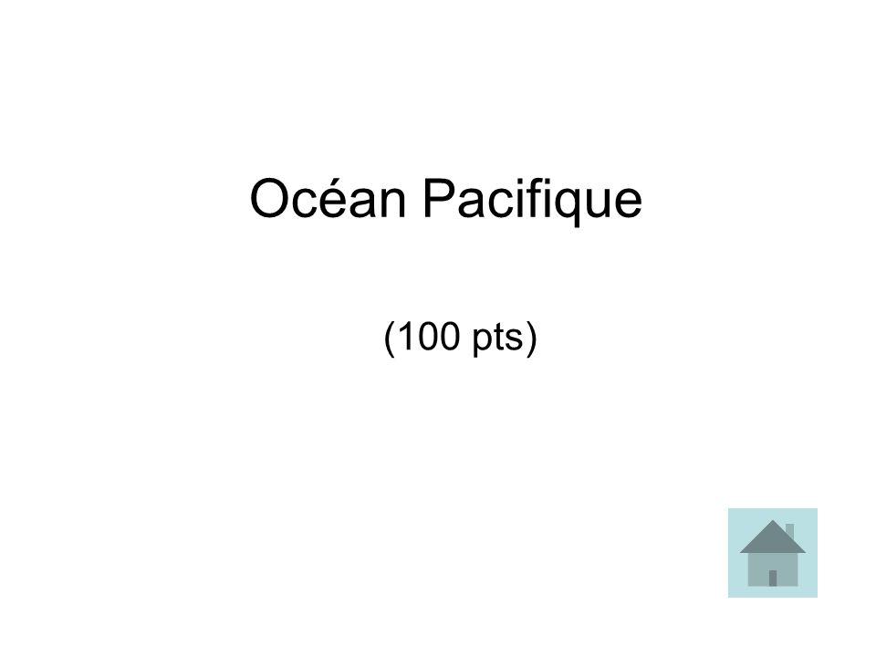 Océan Pacifique (100 pts)