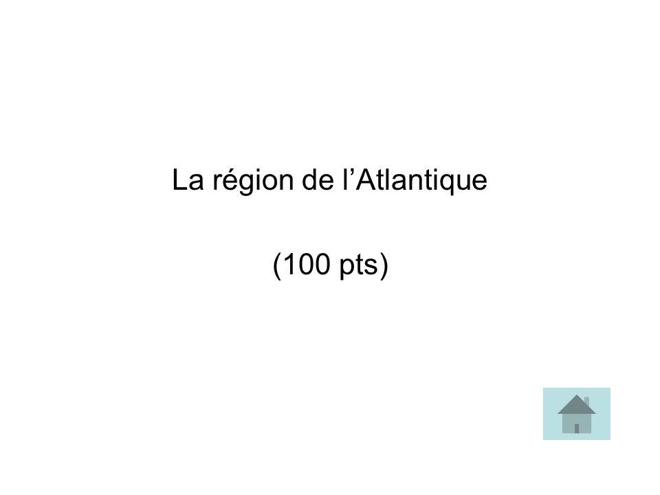 La région de l'Atlantique