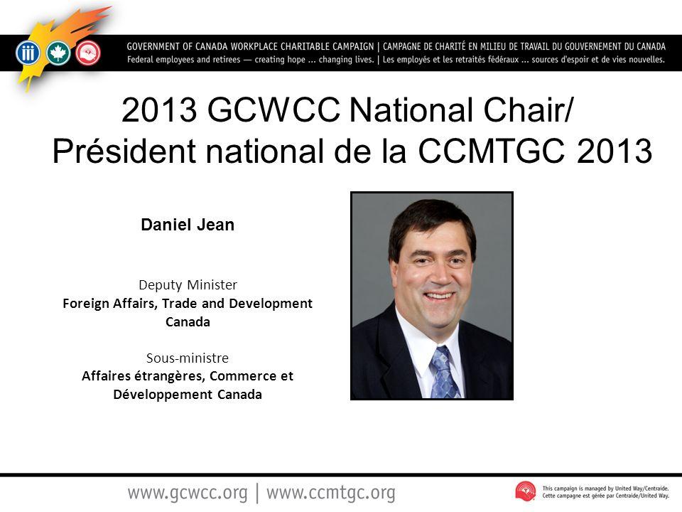 Président national de la CCMTGC 2013