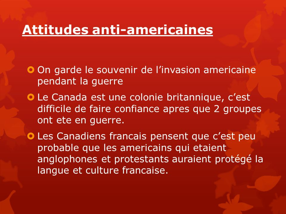 Attitudes anti-americaines