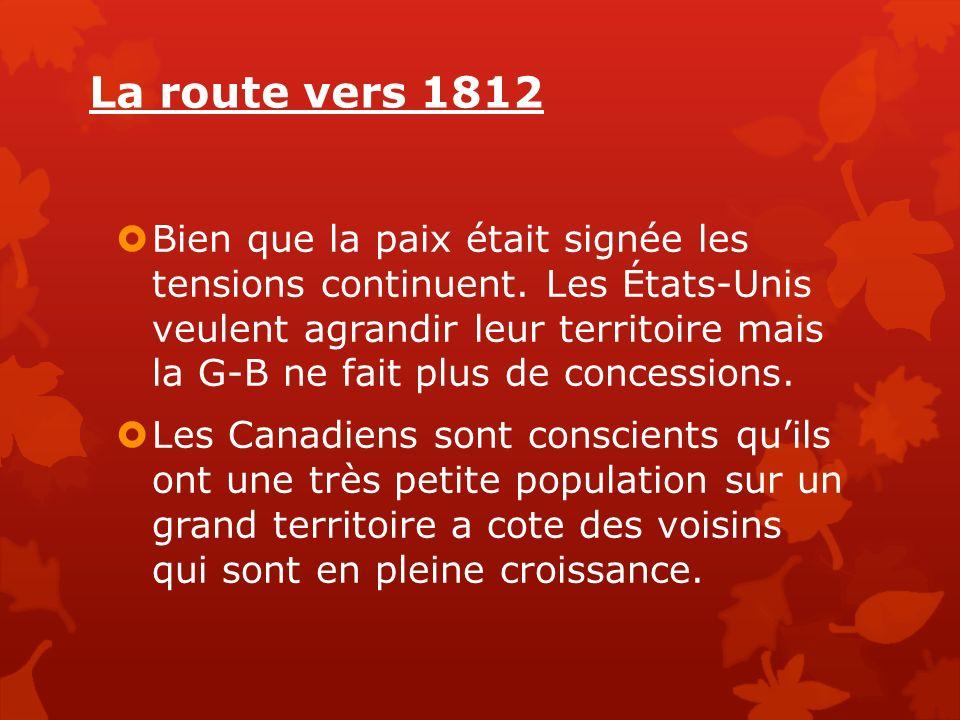 La route vers 1812