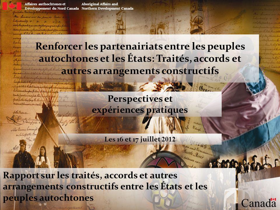 Perspectives et expériences pratiques