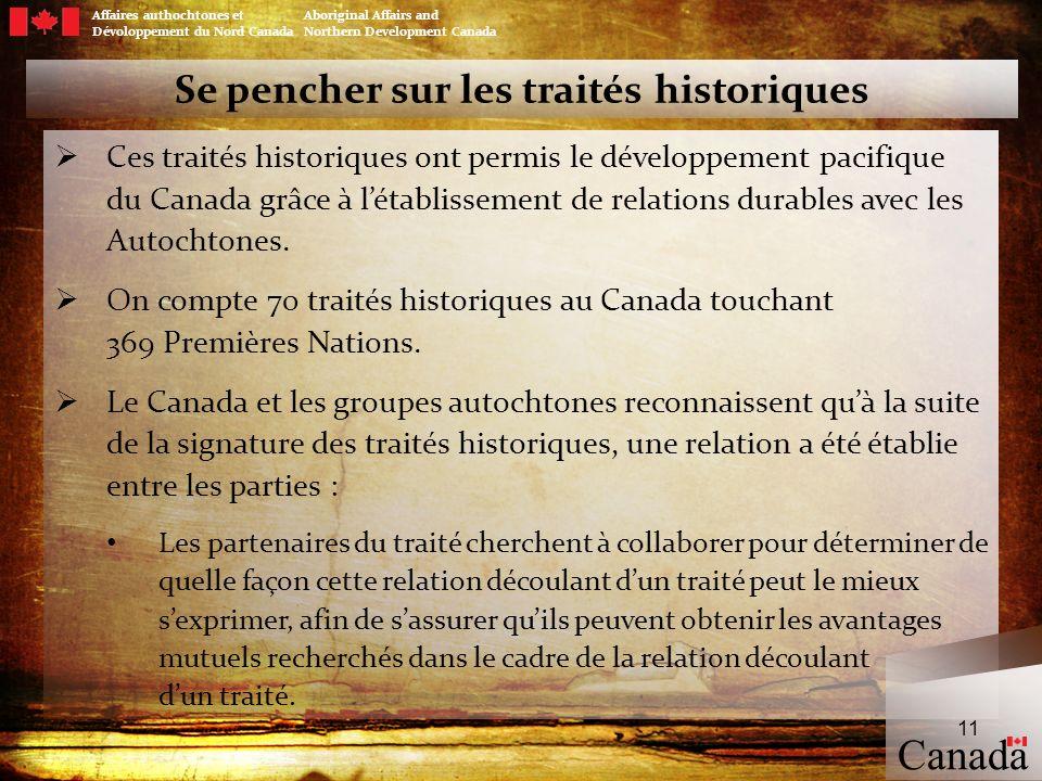 Se pencher sur les traités historiques