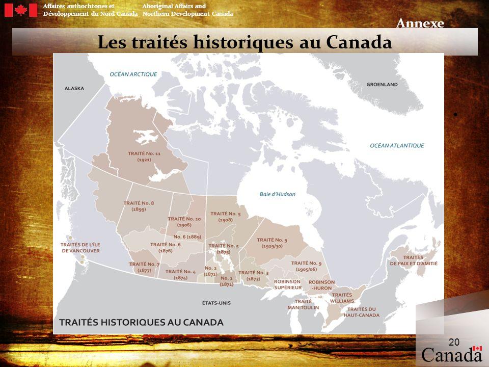Les traités historiques au Canada