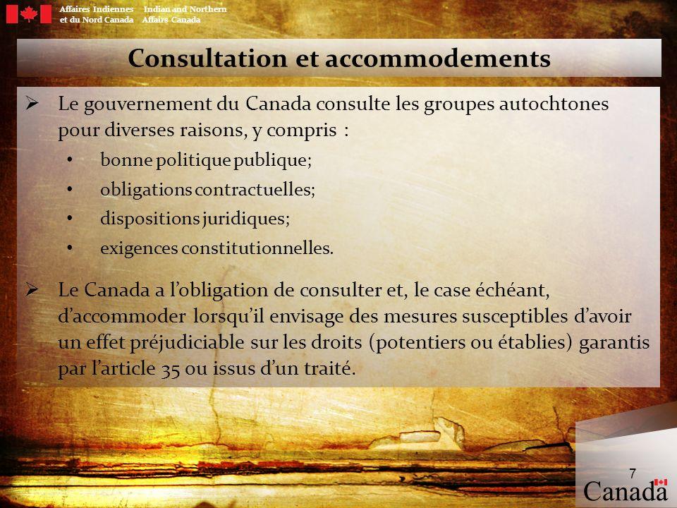 Consultation et accommodements