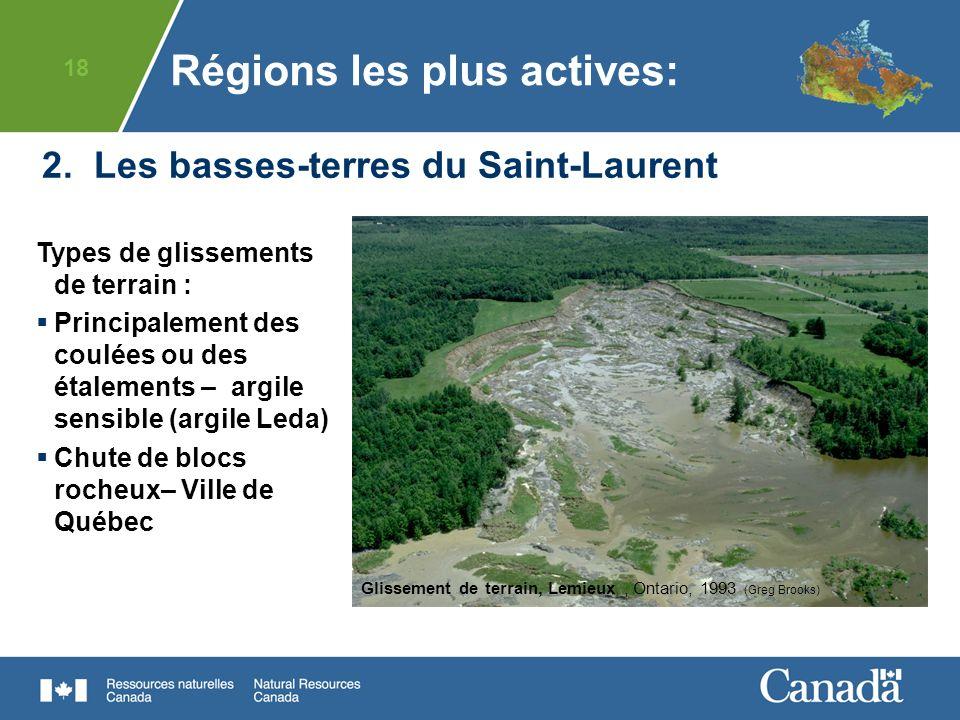 2. Les basses-terres du Saint-Laurent
