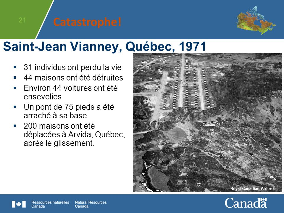Saint-Jean Vianney, Québec, 1971