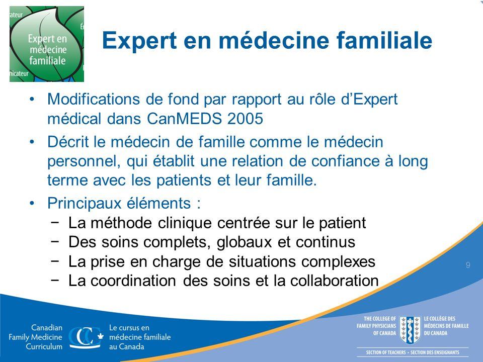 Expert en médecine familiale