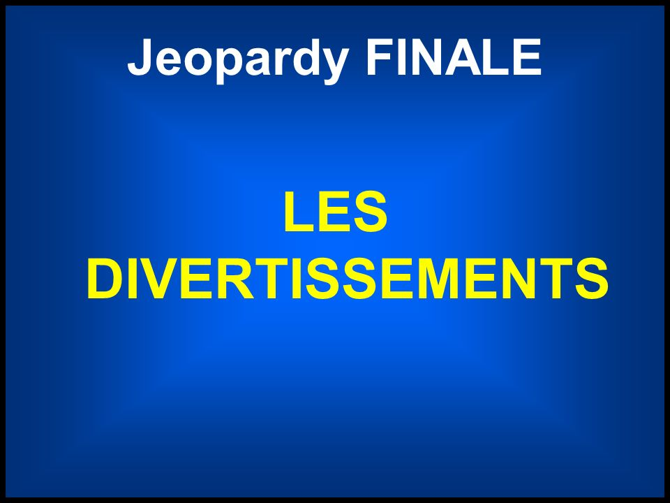 Jeopardy FINALE LES DIVERTISSEMENTS Final Jeopardy betting screen 4