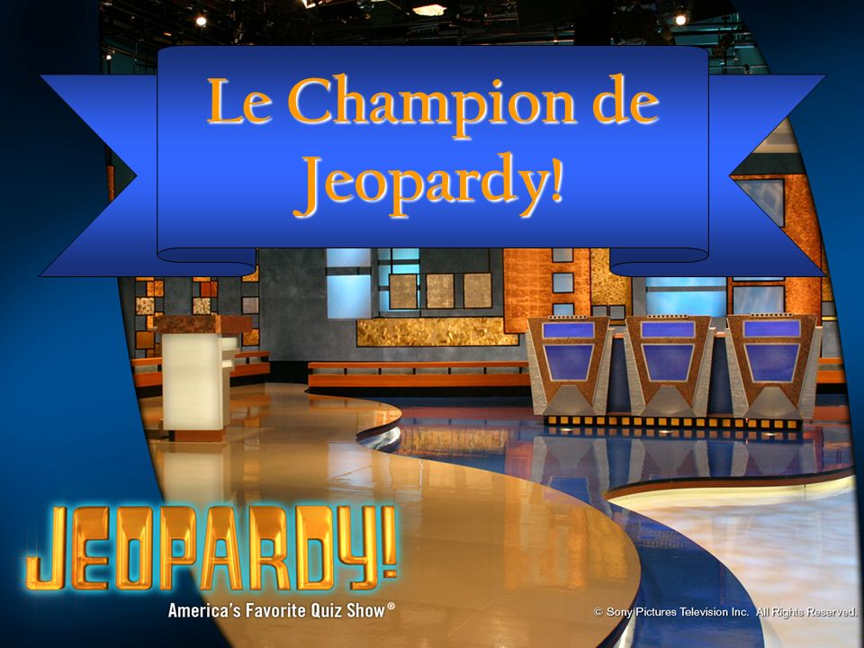 Le Champion de Jeopardy!
