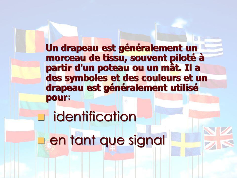 identification en tant que signal