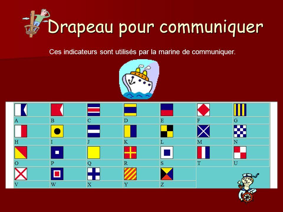 Drapeau pour communiquer