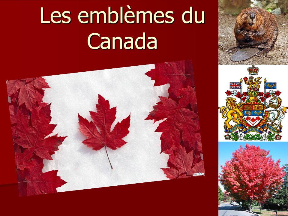 Les emblèmes du Canada