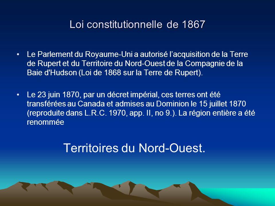 Loi constitutionnelle de 1867