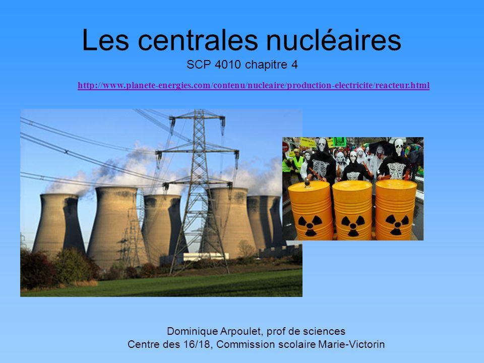 Les centrales nucléaires SCP 4010 chapitre 4