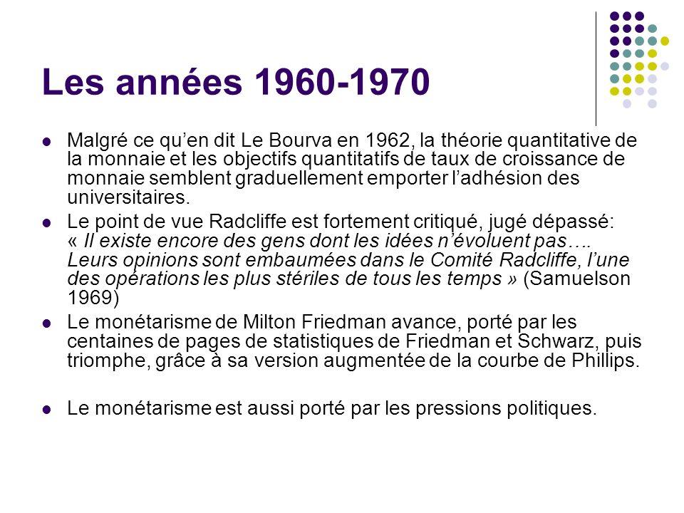 Les années 1960-1970