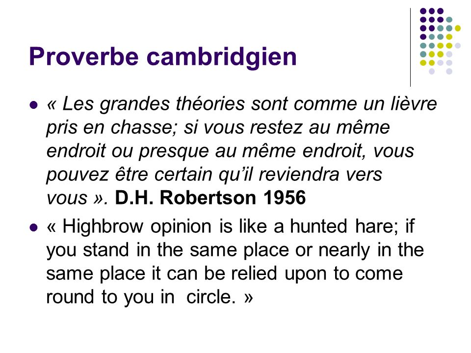 Proverbe cambridgien