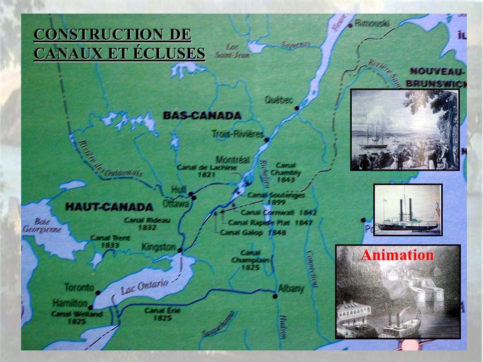 CONSTRUCTION DE CANAUX ET ÉCLUSES
