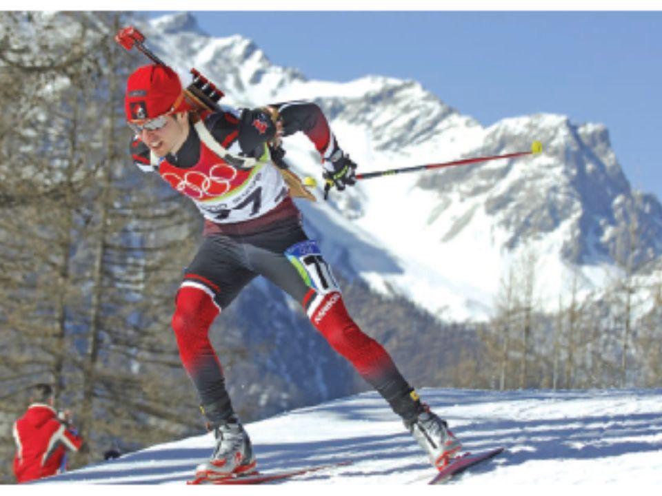 Belle photo d'un biathlète canadien!