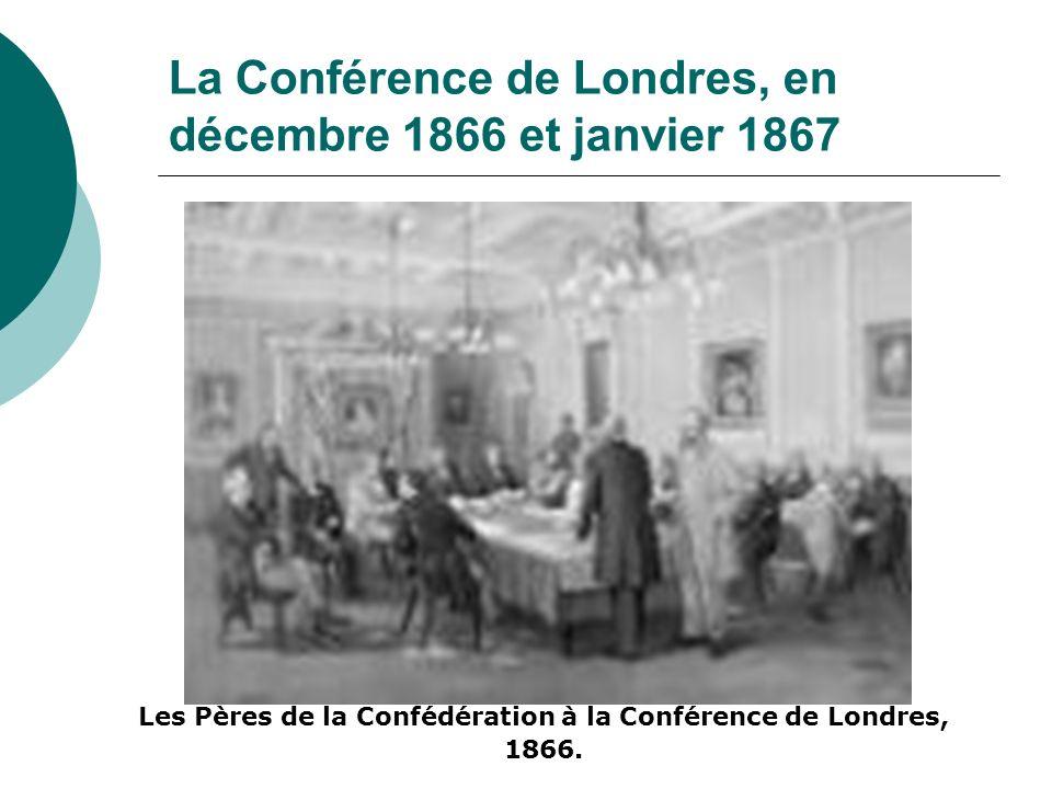 La Conférence de Londres, en décembre 1866 et janvier 1867