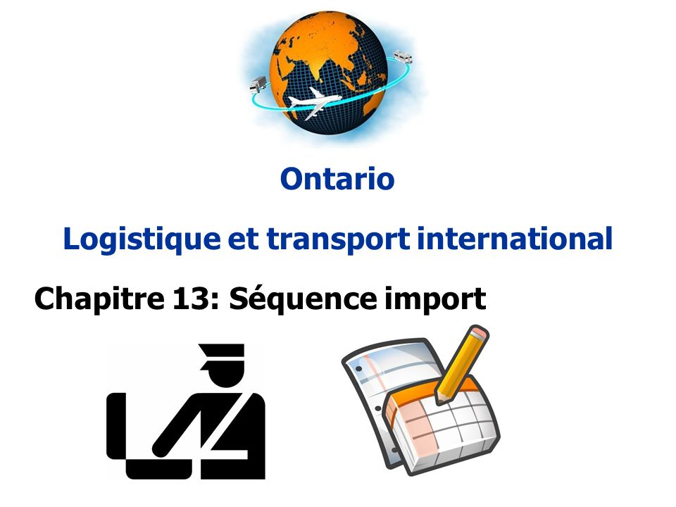 Logistique et transport international