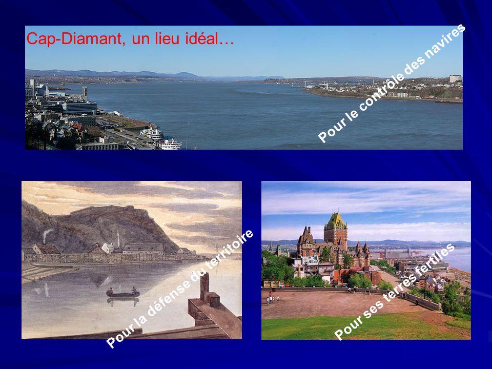Cap-Diamant, un lieu idéal…