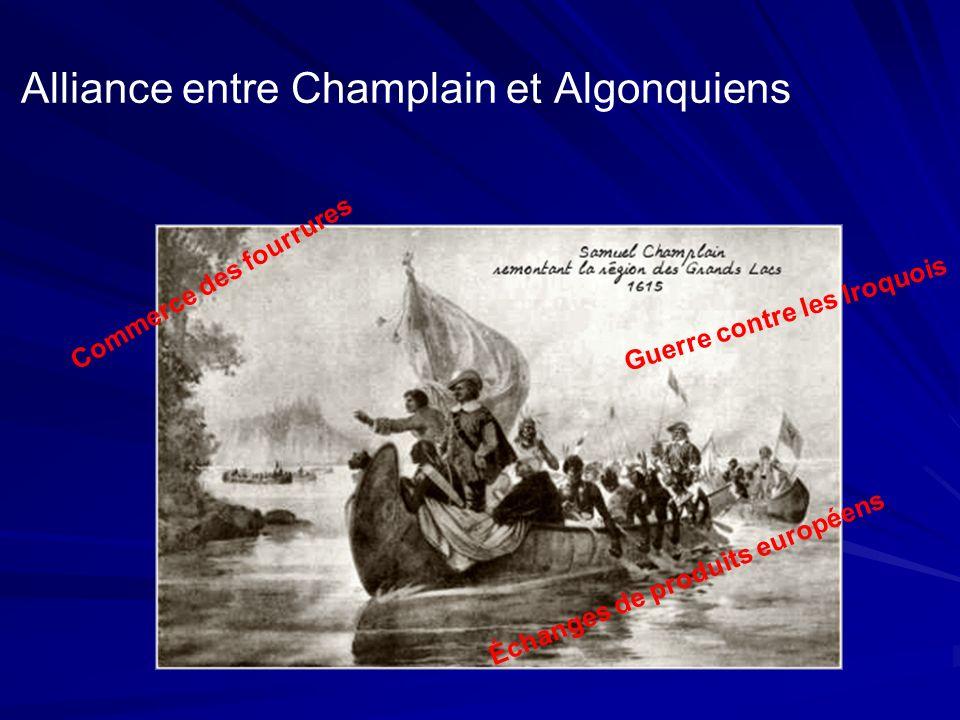 Alliance entre Champlain et Algonquiens