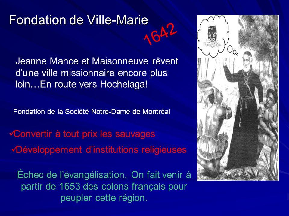 1642 Fondation de Ville-Marie