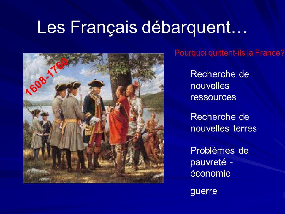 Les Français débarquent…