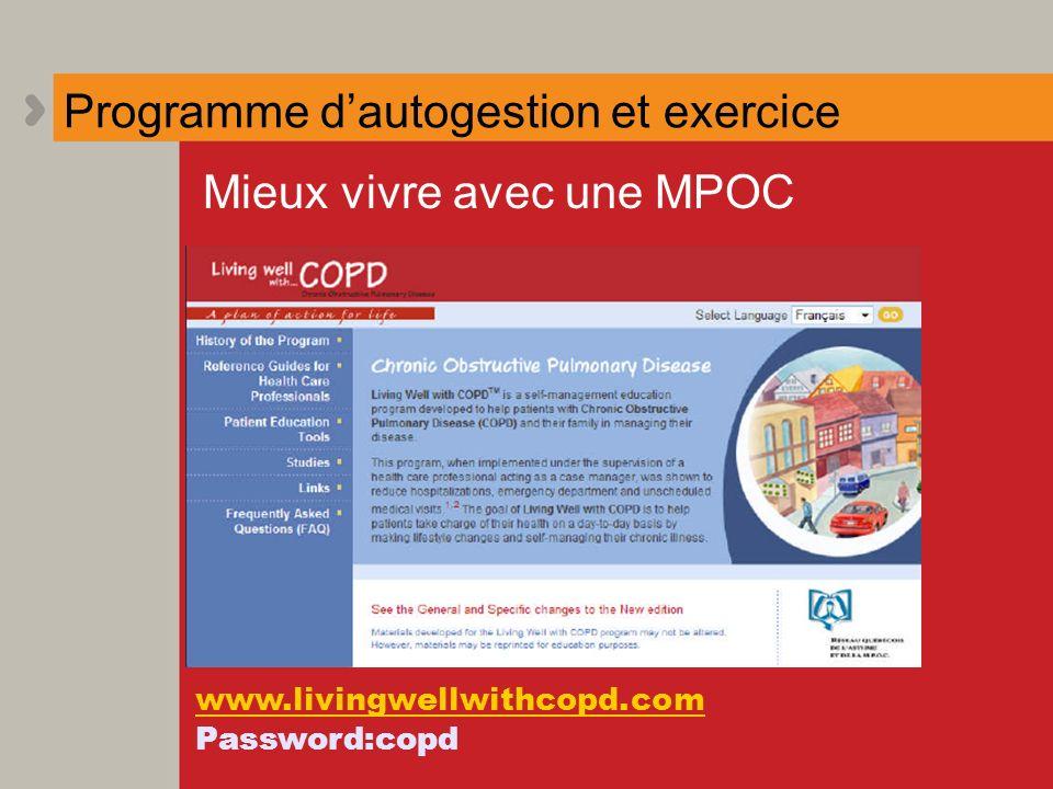 Programme d'autogestion et exercice
