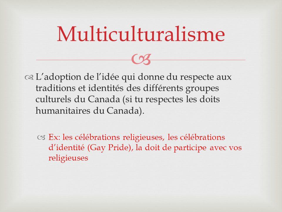 Multiculturalisme