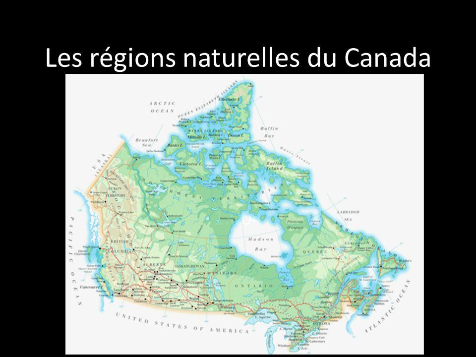 Les régions naturelles du Canada