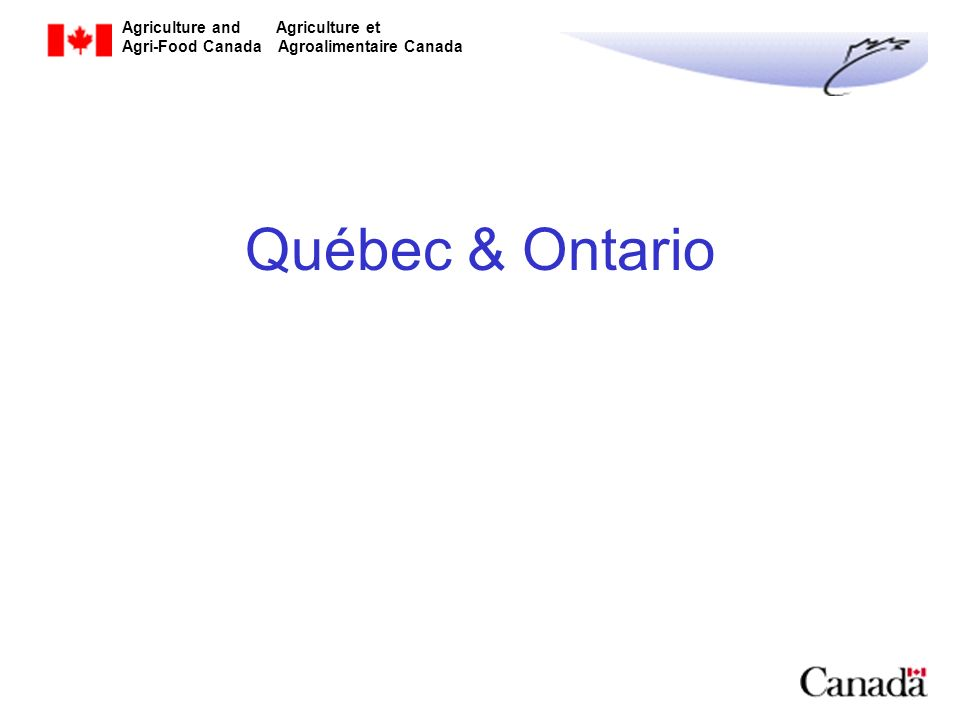 Québec & Ontario