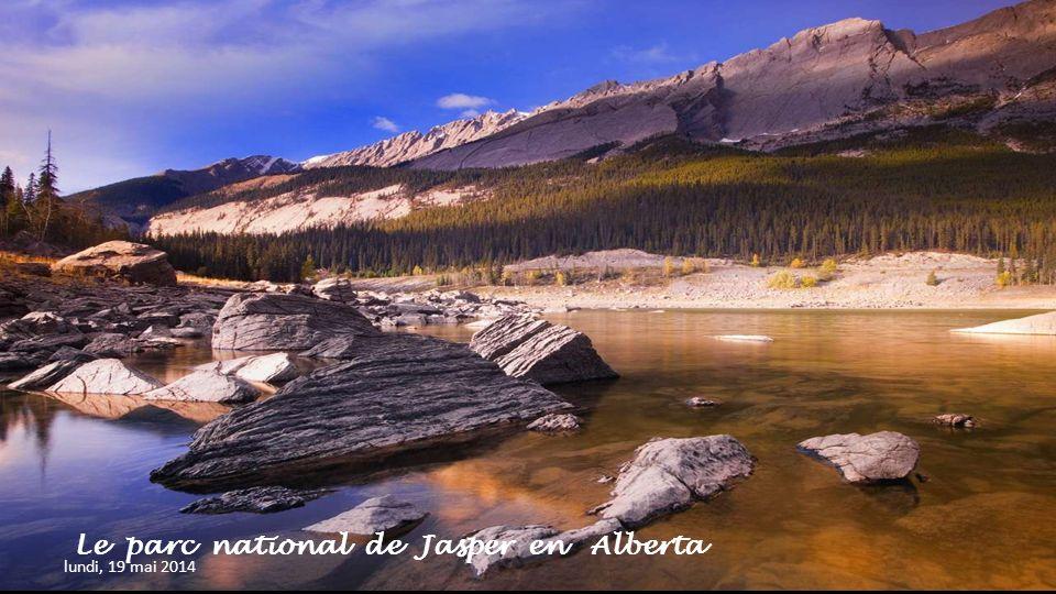 Le parc national de Jasper en Alberta