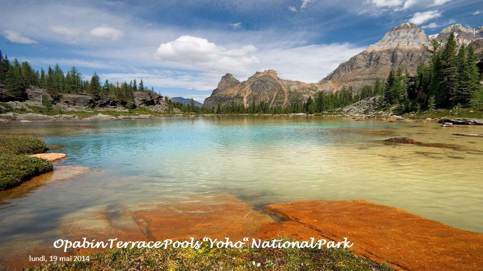 Opabin Terrace Pools Yoho National Park