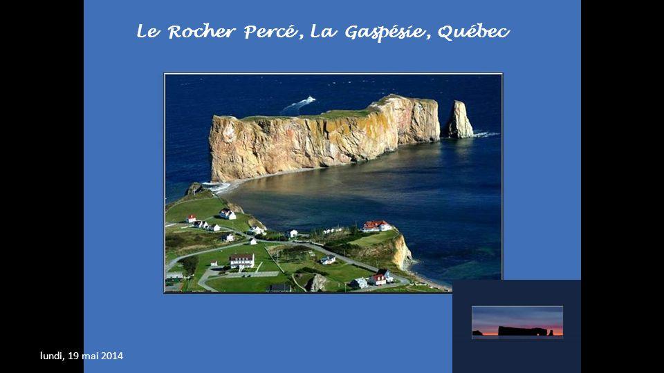 Le Rocher Percé , La Gaspésie , Québec