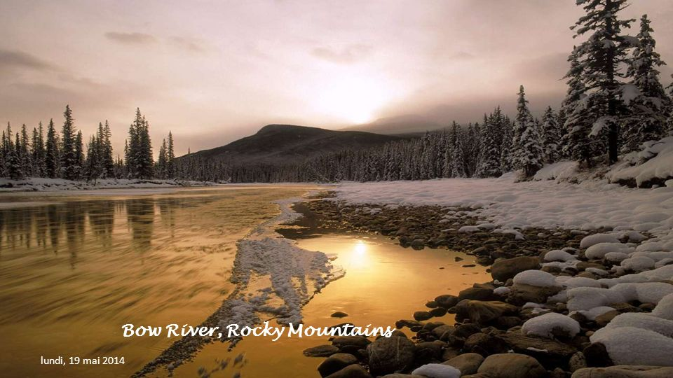 Bow River, Rocky Mountains