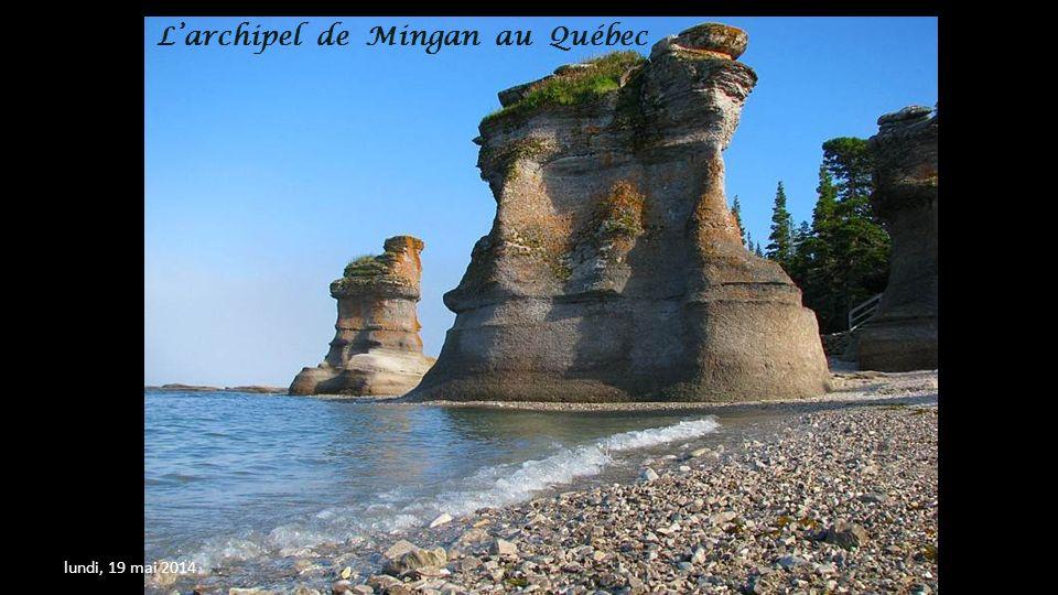 L'archipel de Mingan au Québec