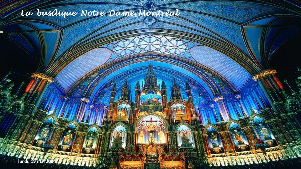 La basilique Notre Dame, Montréal