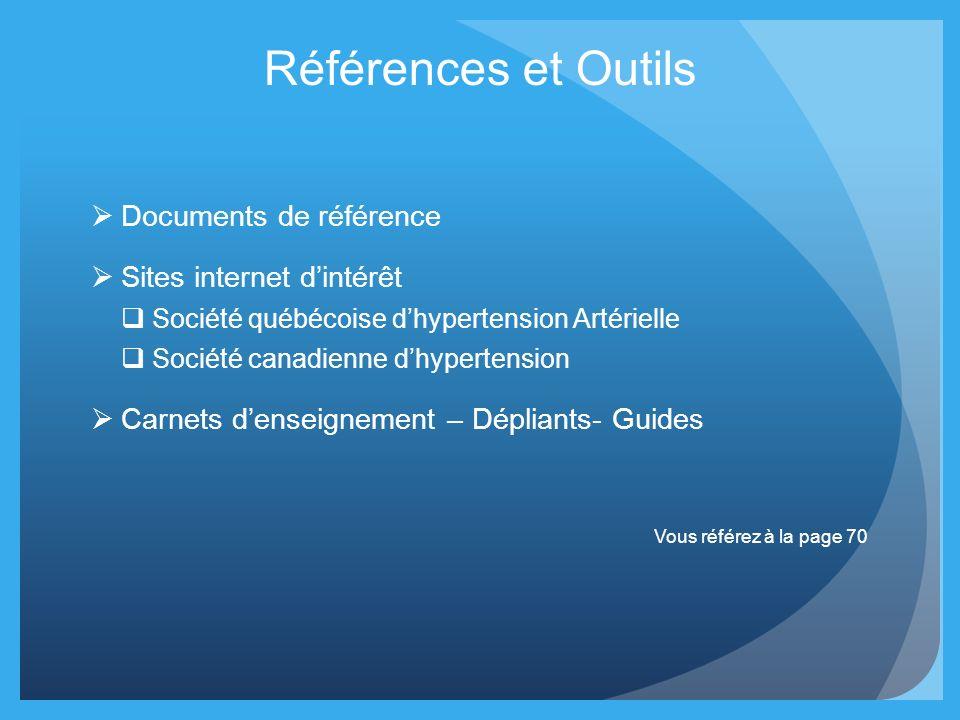 Références et Outils Documents de référence Sites internet d'intérêt