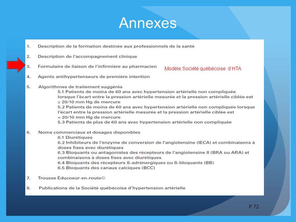 Annexes Modèle Société québécoise d'HTA P 72